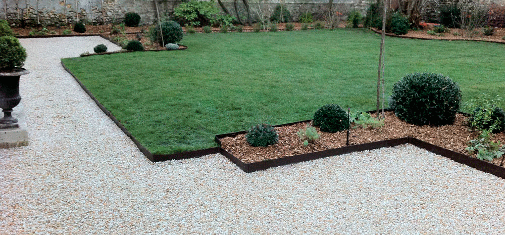 Nidagravel et everedge au clair du jardin cr ation for Entretien jardin versailles